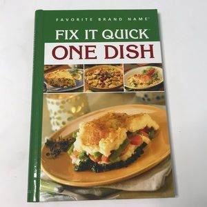 Other - Fix it quick one dish cookbook new